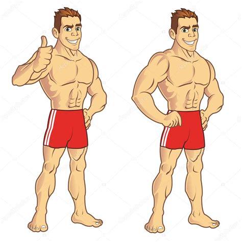 imagenes de jovenes fuertes kaslı adam stok vekt 246 r 169 gagu 25036195