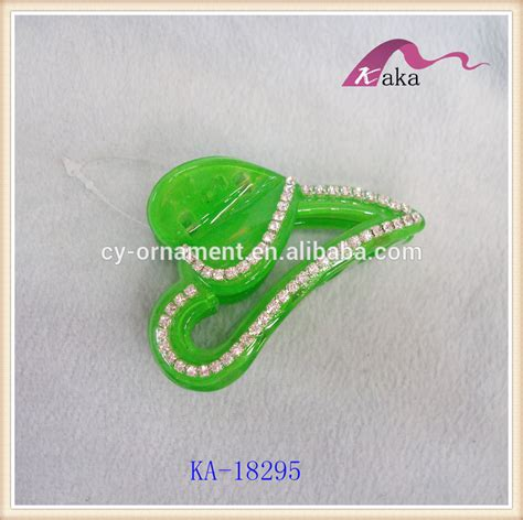 Plastik Opp Fancy fancy claws plastic hair accessory jaw hair with