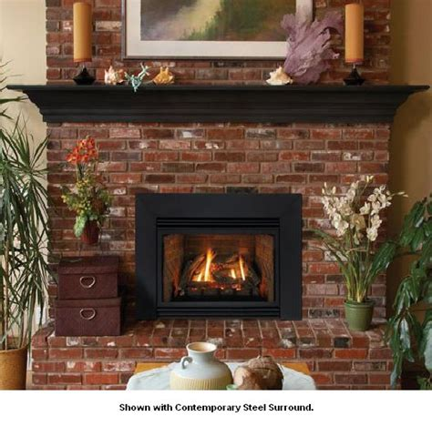 direct vent gas fireplace insert reviews empire innsbrook small direct vent gas fireplace insert