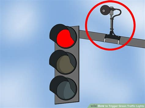 do traffic lights sensors 3 ways to trigger green traffic lights wikihow