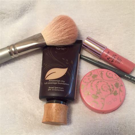 Makeup Tarte fresh summer look with tarte rock paper glam