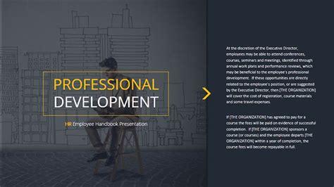 Hr Employee Handbook Presentation By Creativescheme Graphicriver Employee Handbook Template Powerpoint