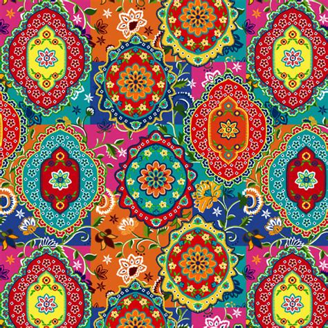 indian pattern artist a selection of indian prints a combination of cultures