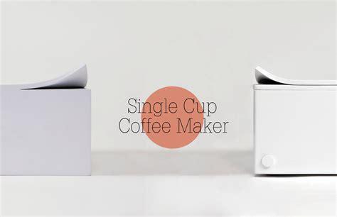 Single Cup Coffee Maker10 ? Fubiz Media