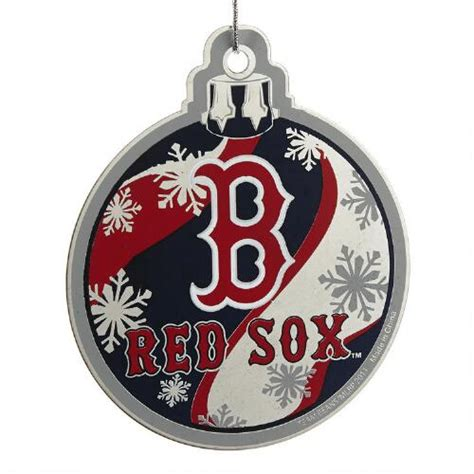 boston red sox forever collectibles ornament christmas