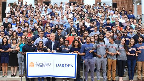 Uva Darden Mba Employment Report by Uva Darden Community Embraces Moment Of After