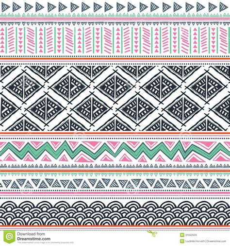 tribal pattern free stock abstract tribal pattern stock vector illustration of