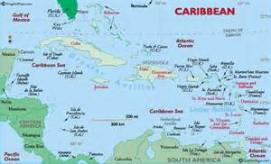 Caribbean Island Map by Gale Gayle Families Of The West Indies