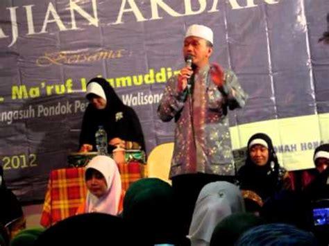 download mp3 ceramah gus ali pengajian kh ma ruf islamuddin luar biasa petuahnya doovi