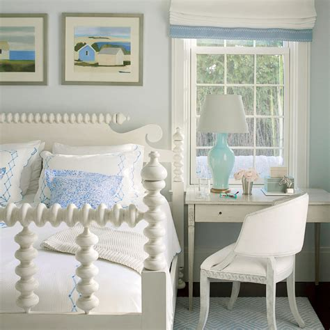 coastal living bedrooms blue and white bedroom 30 beautiful beachy bedrooms