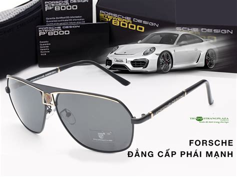 Porsche P8000 2 k 237 nh mắt nam thời trang cao cấp porsche pe03