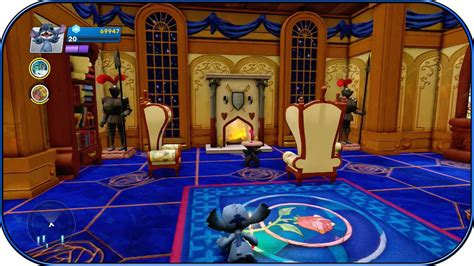 beauty and the beast bedroom disney infinity 2 0 beauty and the beast room interiors ep 17 youtube