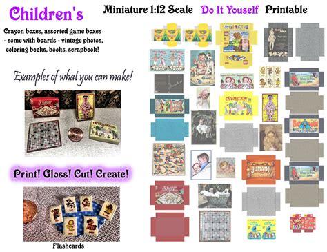 printable dolls house shop signs 1 12 scale dollhouse miniature digital download diy printable