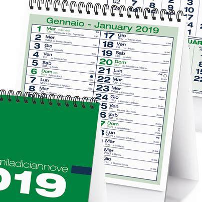 sta calendari da tavolo calendario 2018 da tavolo modello verticale personalizzato