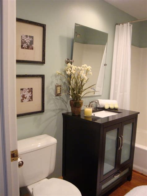 Remodeling Ideas For Small Bathrooms staged bathroom contemporary bathroom kansas city