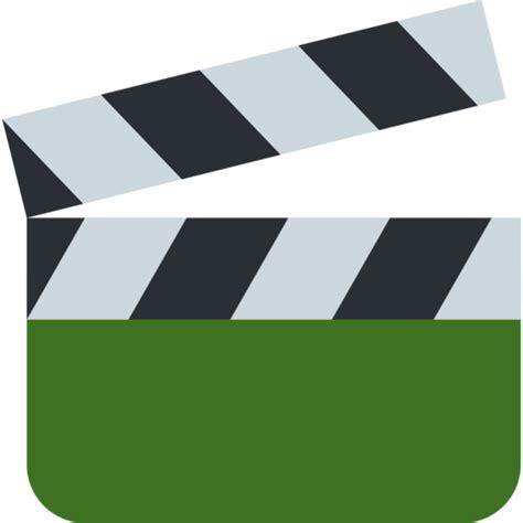 filmklappe emoji claqueta emoji