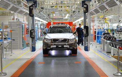 volvos  usa factory opens starts  sedan production dsfmy