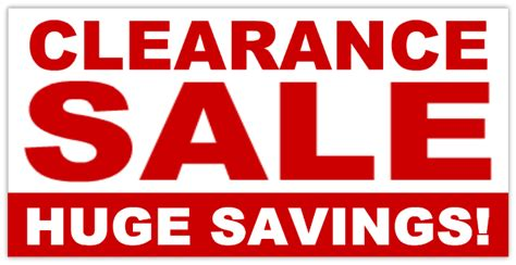 Clearance Sale Banner 01 Retail Sale Banner Templates Design Templates Yard Signs Cheap Retail Sale Signs Templates Free