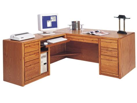 l shaped office desks executive l shaped office desk w left rtn mco 684l