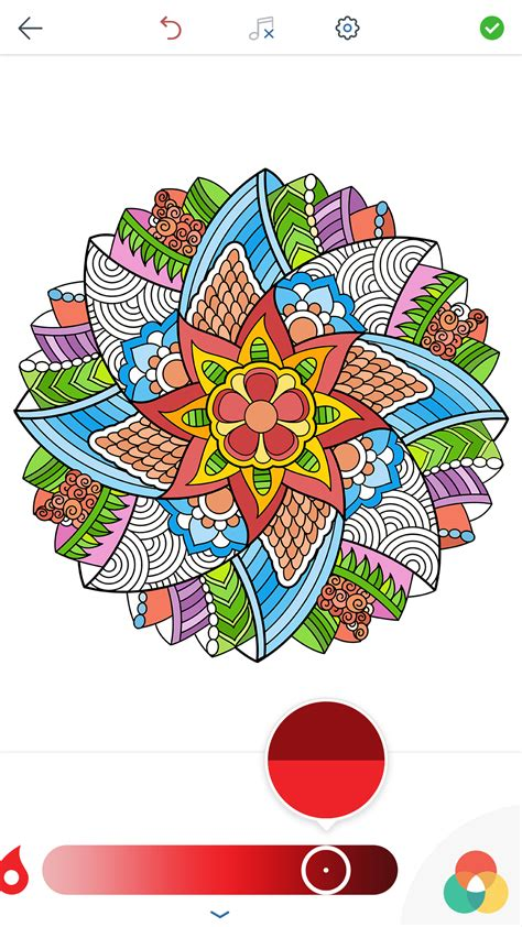 magic mandala coloring book volume two magic mandalas coloring pages for adults for android