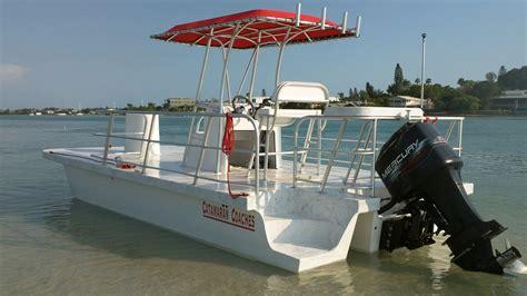 catamaran coaches pontoon boats - Pontoon Dive Boat