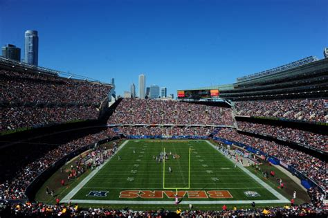 chicago bears stadium seating capacity the oldest nfl stadiums