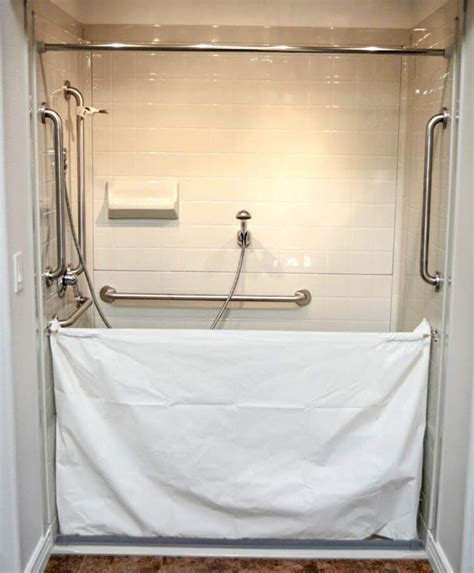 heavy vinyl shower curtain heavy duty vinyl attendant shower curtain bestbath