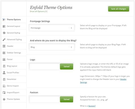 enfold theme options not working enfold powerful responsive multi purpose wordpress theme