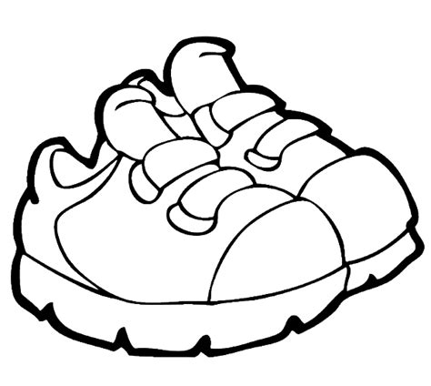 Shoes Coloring Page free coloring pages of shoe