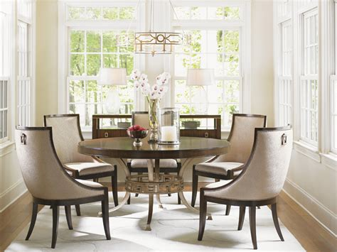 lexington dining room table tower place regis round dining table lexington home brands