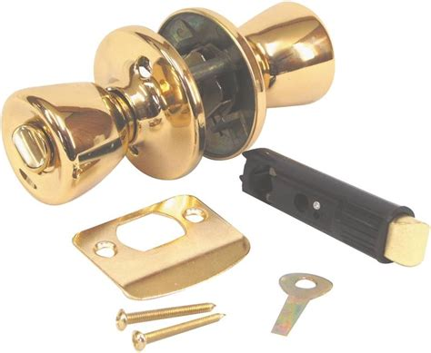 interior door knobs for mobile homes american hardware mobile home d 600b interior door lockset bright brass