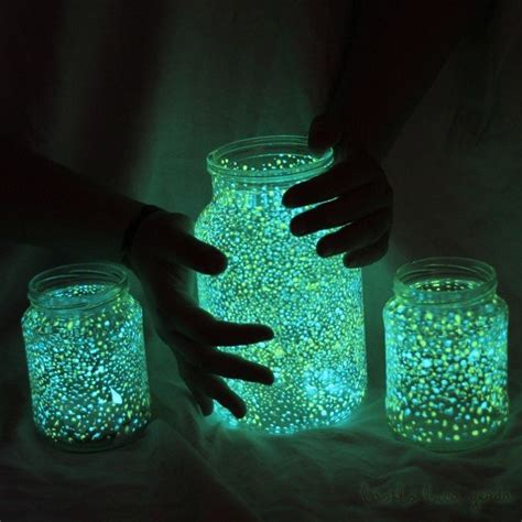 diy glow jars diy wedding ideas glowing jar project