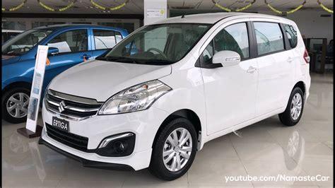 Suzuki Ertiga New 2017 maruti suzuki ertiga zdi shvs 2017 real review
