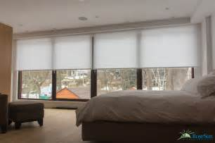 bedroom window blinds remote operated modern bedroom