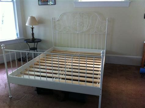 ikea white metal bed frame ikea white metal bed frame design ideas decors