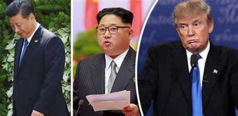 trump china north korea north korea tension trump affirms china working with us