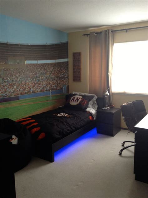 baseball themed bedrooms sf giants baseball theme boy bedroom design