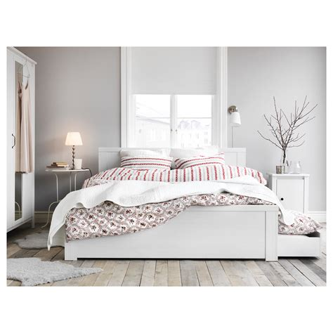 white bed frame with storage brusali bed frame with 4 storage boxes white lur 246 y