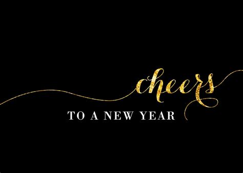 cheers new year card holiday from brookhollow