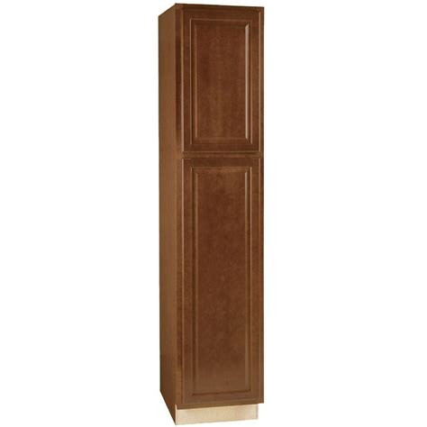 kitchen armoire cabinets hton bay hton assembled 18x84x24 in pantry kitchen