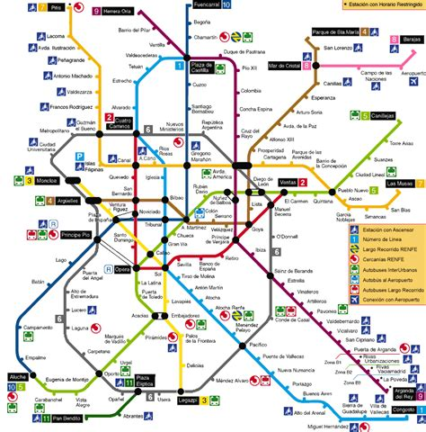 Metro Map by Metro Map Pictures Metro Map Of Madrid Pictures