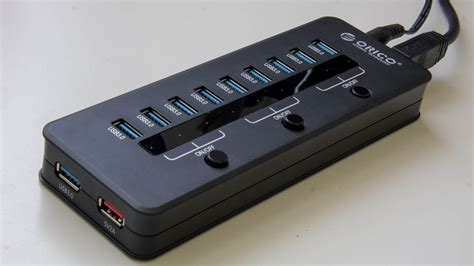 test porte usb orico 10 usb 3 0 hub techtest