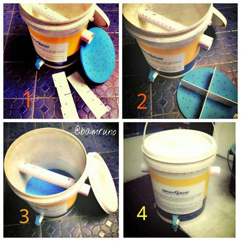cara membuat kolase sederhana cara membuat komposter sederhana bamruno