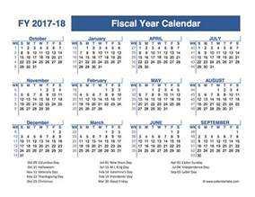 2018 Fiscal Week Calendar 2017 2018 Fiscal Planner Us Free Printable Templates
