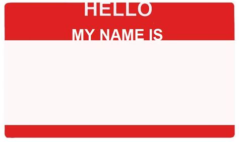 hello my name is template by amek92 on deviantart
