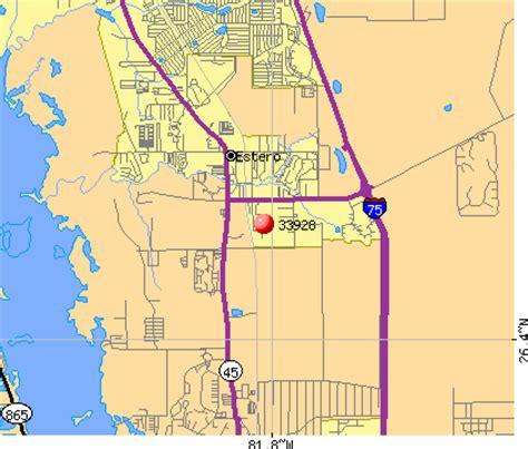 Zip Code Map Estero Fl | 33928 zip code estero florida profile homes