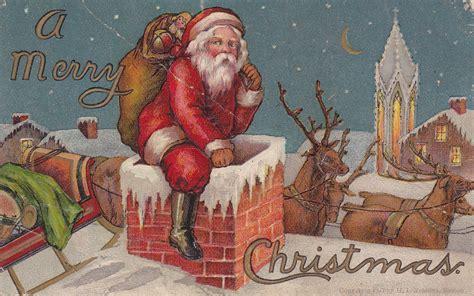 vintage santa claus vintage santa claus 3 free wallpaper hivewallpaper