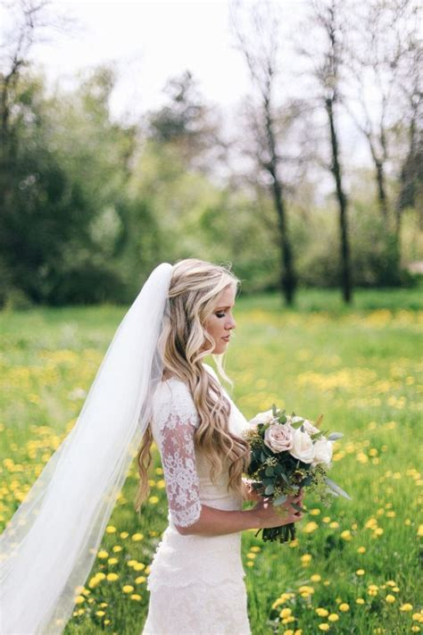 Best 25  Veil hairstyles ideas on Pinterest   Bride