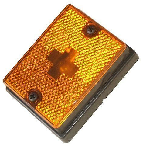 wesbar boat trailer fenders wesbar amber clearance side marker light 203111 pacific