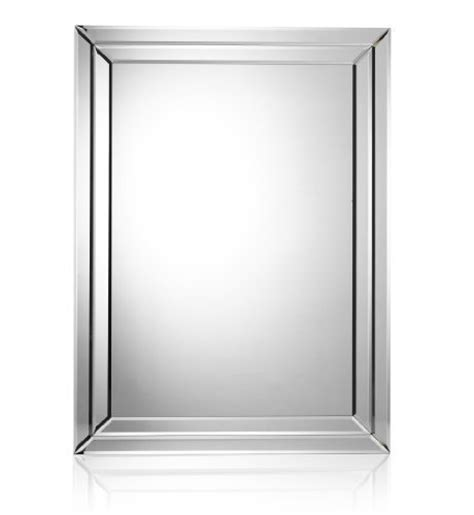 deco style rectangular mirror